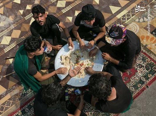 سبک غذا خوردن عراقی ها