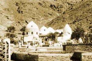 بارگاه حضرت خدیجه (س) قبل از تخریب در سال 1344 قمری