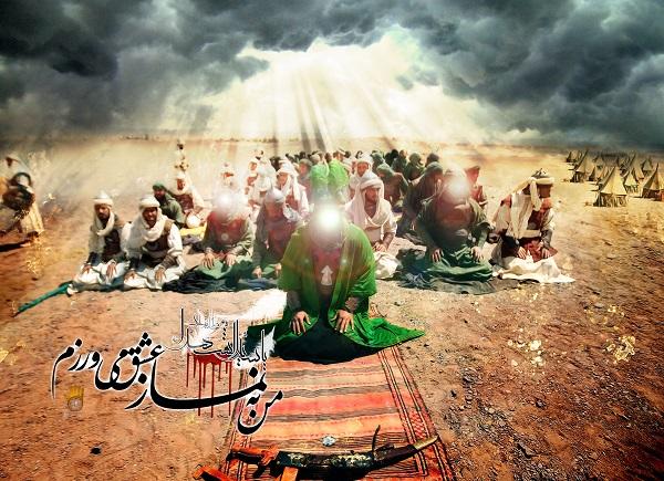 عبادت حسین علیه السلام